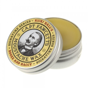Captain Fawcett Ricki Hall Booze & Baccy wosk do wąsów 15 ml