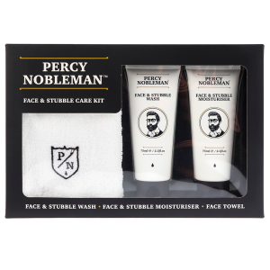 PERCY NOBLEMAN - FACE & STUBBLE KIT ZESTAW