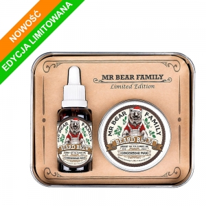Mr Bear Family zestaw do brody Gingerbear man Limited Edition