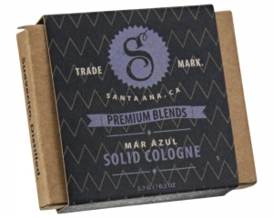 Suavecito perfumy w kremie MAR AZUL Solid Cologne Refill