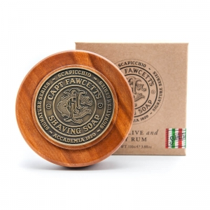Captain Fawcett mydło do golenia w tyglu Scapicchio Luxury Shaving Soap Signature Series 110 g
