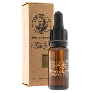 Captain Fawcett Ricki Hall Booze & Baccy olejek do brody 10 ml