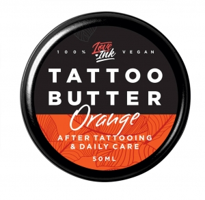 LOVEINK TATTOO BUTTER ORANGE - MASŁO DO TATUAŻU 50 ML