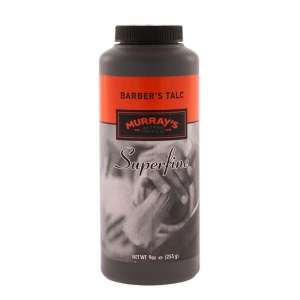 Murray's Barber's Talc Superfine Powder Talk Fryzjerski 255g