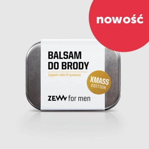 Zew balsam do brody imbir i cynamon Xmass Edition 80 ml