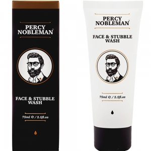 Percy Nobleman Face & Stubble Wash płyn do mycia twarzy 75 ml