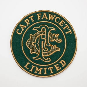 CF Green Cloth Patch Naszywka