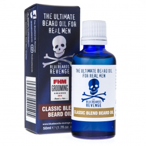 THE BLUEBEARDS REVENGE CLASSIC BLEND BEARD OIL - klasyczny olejek do brody 50 ml