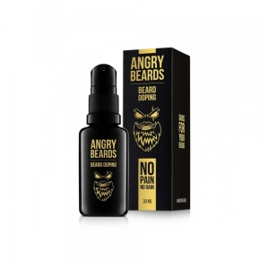 Angry Beards serum wspomagające porost brody Beard Doping 30 ml