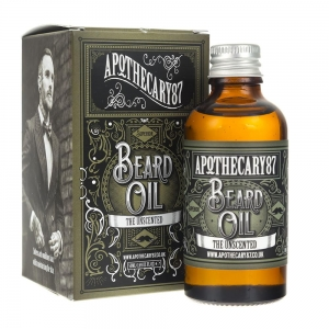 Apothecary87 olejek do brody Unscented bezzapachowy 50 ml