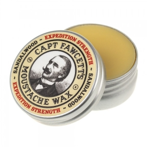 Captain Fawcett Expedition Strength Moustache Wax wosk do wąsów 15 ml