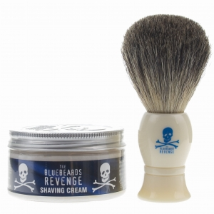 The Bluebeards Revenge zestaw do golenia pędzel i krem 100 ml BBRSCBGK