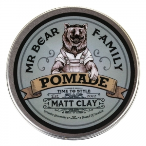 Mr Bear Family matowa pomada do włosów Springwood Matt Clay Pomade