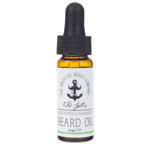 The Brighton Beard Co olejek do brody Czarny Pieprz i Grejpfrut (Blackpepper & Grapefruit) 10 ml