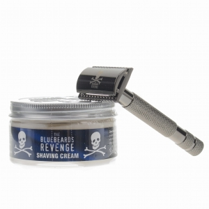 The Bluebeards Revenge - zestaw - maszynka do golenia Cutlass i krem do golenia 100 ml