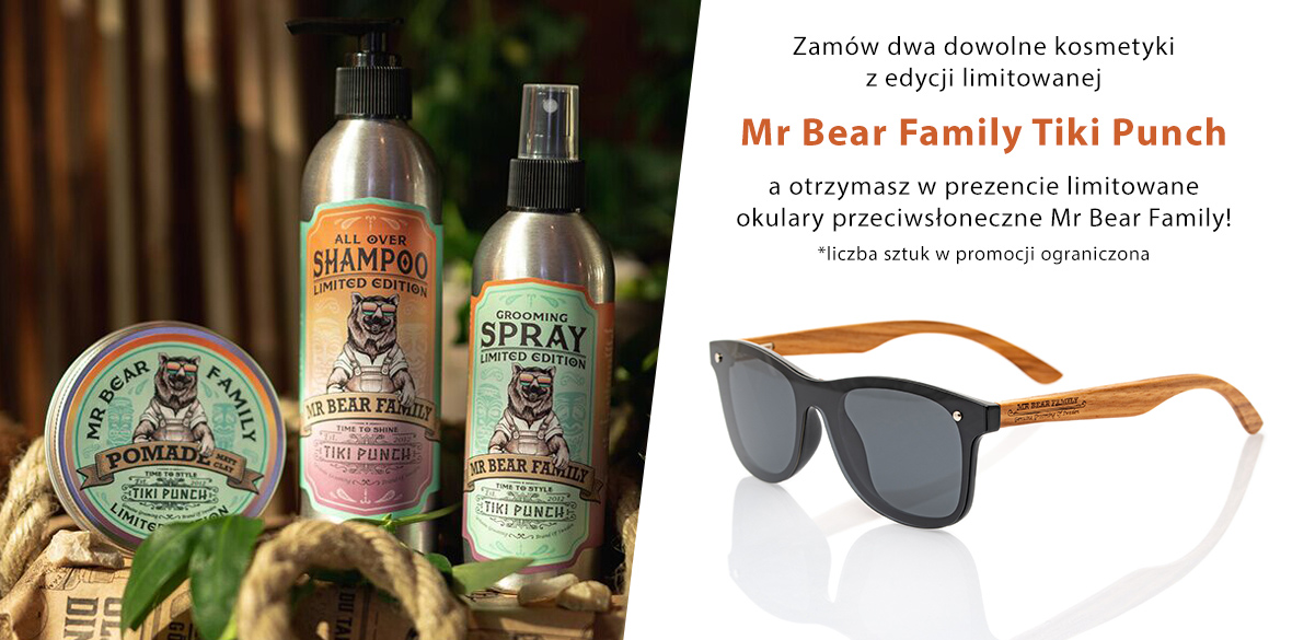 Mr Bear Family Limited Edition Tiki Punch